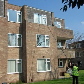 Apartment Block window cleaning Bristol
